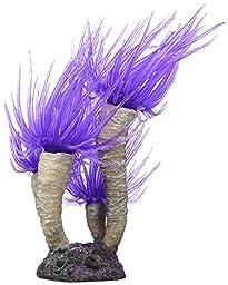 Vitality SH342 Faux Coral Aquarium Decorating Ornament, Purple