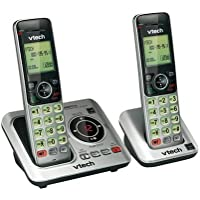 Multi Handset Phone System in Silver and Black