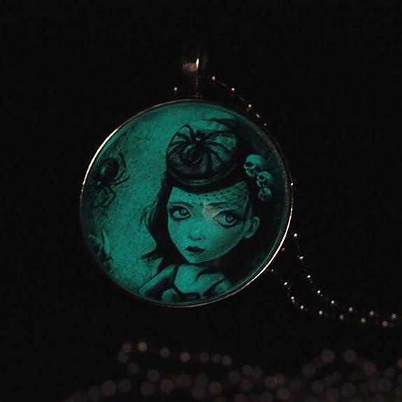 Amazon.com: lightclub Halloween Women Glow in Dark Luminous ...