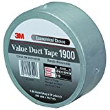 T98719003PK Duct Tape, 2'' x 50 yd, Silver (Pack of 3)