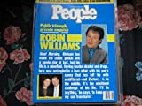 People Weekly (ROBIN WILLIAMS , Good Morning, Vietnam ....Alcohol & Drugs & Entangled Love Affair, February 22 , 1988)