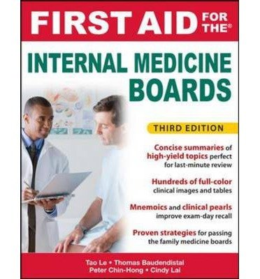 First Aid for the Internal Medicine Boards (First Aid) (Paperback) - Common pdf epub