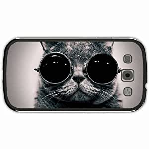 New Style Customized Back Cover Case For Samsung Galaxy S3 Hardshell Case, Black Back Cover Design Goggles Personalized Unique Case For Samsung S3