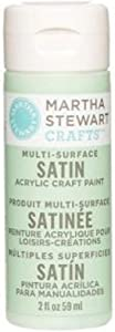 Martha Stewart Crafts Multi-Surface Satin Acrylic Craft Paint in Assorted Colors (2-Ounce), 32009 Pea Shoot