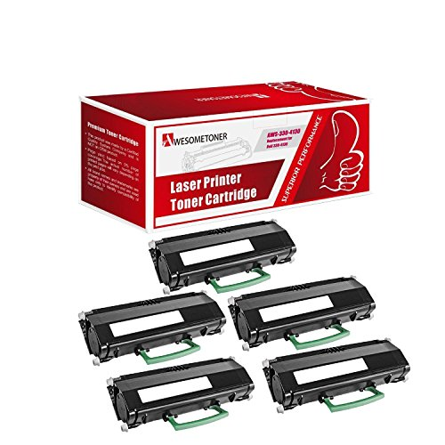 Awesometoner Compatible 5 Pack 330-4130 330-4131 M795K Toner