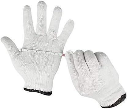 10 pares de guantes de hilo de algodón para protección de trabajo: Amazon.es: Bricolaje y herramientas