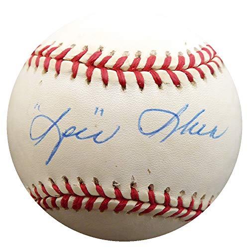(Spec Shea Autographed Official AL Baseball New York Yankees Beckett BAS #F27581)