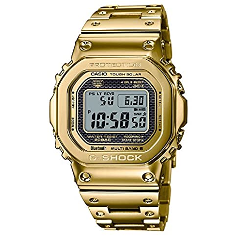 - 51ZN765K1IL - Casio G-Shock GMW-B5000TFG-9JR 35th Anniversary Limited Edition G-SHOCK CONNECTED Radio Solar Watch ( Japan Domestic Genuine Products )