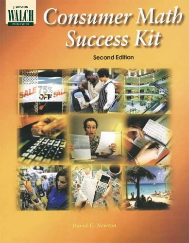 Consumer Math Success Kit