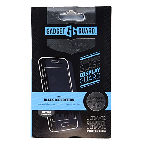 Gadget Guard Black Ice Edition Tempered Glass Screen Guard For Kyocera Duraforce Pro - Clear by Gadget Guard