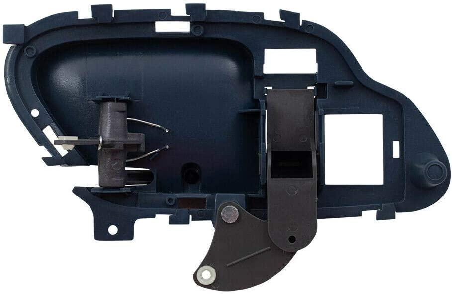 I-Match Auto Parts Front Right Passenger Side Inner Door Handle Replacement For 95-99 Chevy Suburban and GMC Yukon 95-02 Chevy Tahoe and C//K Full Size GM1353102 15708046 Blue