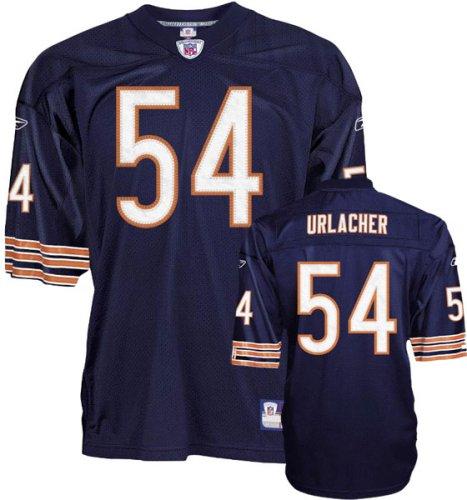 hot sale online e2355 09382 Amazon.com : Brian Urlacher Authentic Chicago Bears Navy NFL ...