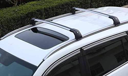 Amazon.com: Roof Rack For Mitsubishi Outlander 2013-2017 Baggage Luggage Roof Rail Carrier Cross Bar Crossbar: Automotive