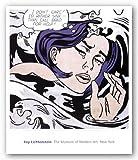 Drowning Girl by Roy Lichtenstein Art Print Poster