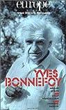 Yves Bonnefoy par Europe
