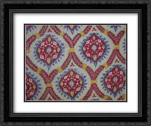 Islamic Art - 24x20 Black Ornate Frame and Double Matted Museum Art Print - ()