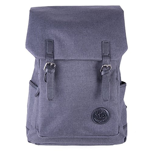 Elephant Brand Modern Luxe Minimalist Backpack (Poly Canvas EBP-03)
