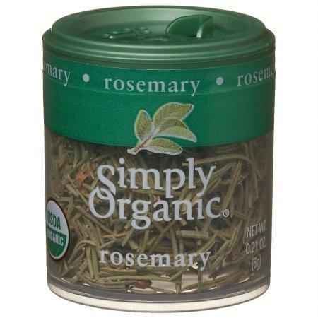 Simply Organic Mini Rosemary Leaf .21 Oz (Pack of 6) - Pack Of 6