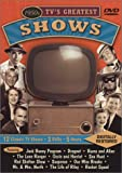 1950s TV's Greatest Shows Featuring: The Jack Benny Program / Dragnet / The Burns and Allen Show / The Lone Ranger / The Adventures of Ozzie and Harriet / Sea Hunt / The Red Skelton Show / Suspense / Our Miss Brooks / Mr. & Mrs. North / The Life of Riley / Racket Squad