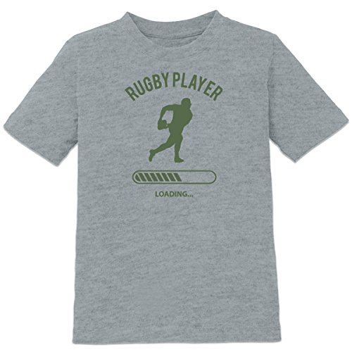 Shirtcity Rugby Player Loading Kids' T-shirt 122-128 Grey