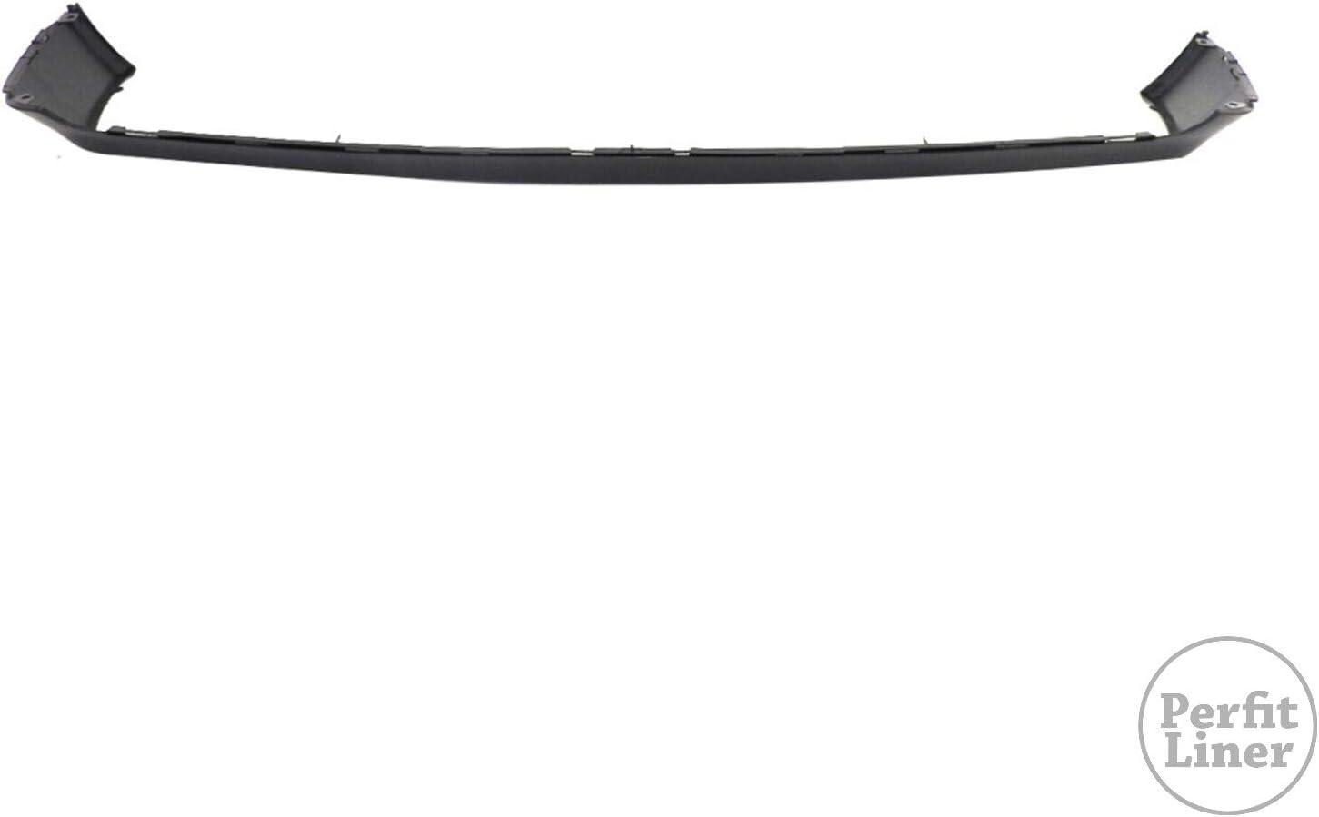 Perfit Liner New Replacement Parts Front Black Primed Bumper Valance Compatible With MERCEDES Benz W210 E Class Sedan Wagon E300 E320 E420 E430 Fits MB1095103 2108850725