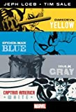 img - for MARVEL KNIGHTS: Jeph Loeb & Tim Sale: Yellow, Blue, Gray & White Omnibus book / textbook / text book