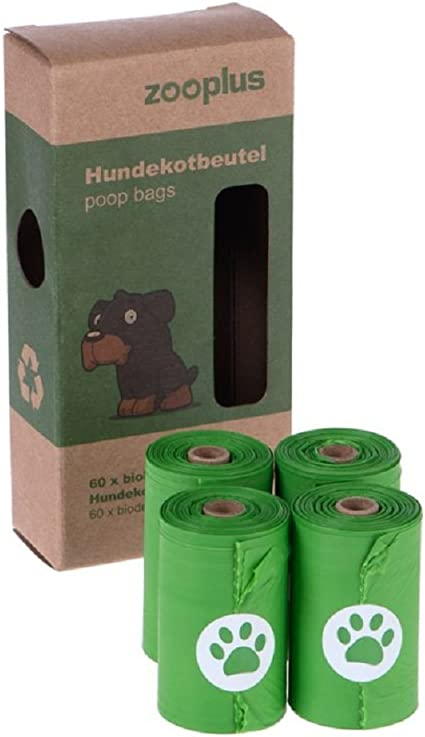 Bolsas de perro biodegradables 40 rollos (15 bolsas por rollo ...