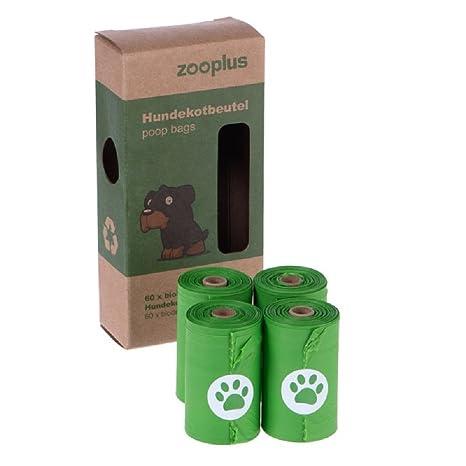 Bolsas de perro biodegradables 40 rollos (15 bolsas por ...