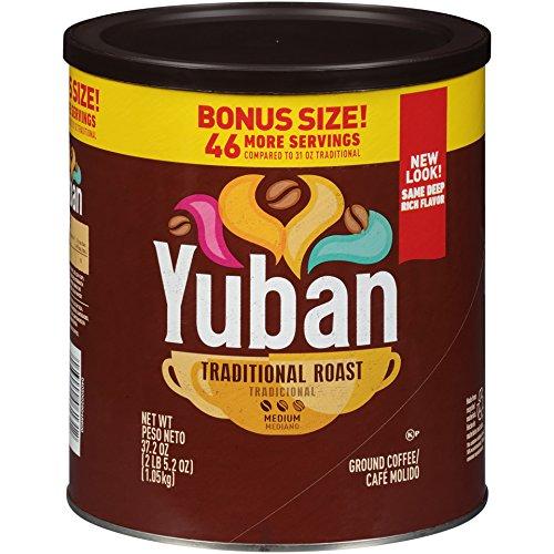 Yuban Traditional Roast Ground Coffee (37.2 oz Jug)