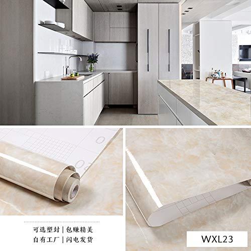 Patron de marmol imitacion pegatinas impermeable papel pintado autoadhesivo cocina mesa de comedor armario puerta papel pintado WX