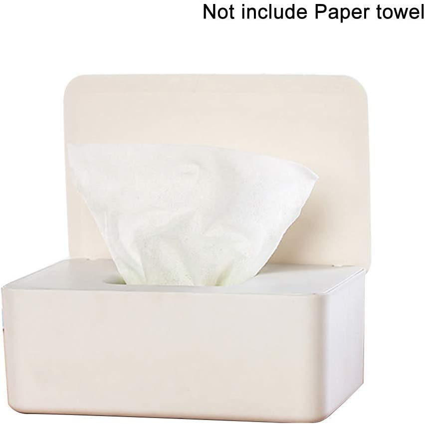 MOOUK Wipes Dispenser Baby Wipe Holder Keeps Wipes Fresh Non-Slip Easy Open /& Close Wipe Container Wet Wipes Dispenser Holder with Seal Lid Tissue Storage Box Baby Wipes Case