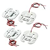 Aexit 4Pcs Half Bridge Body Load Cell Electronic Scale Weighing Sensor 50Kg