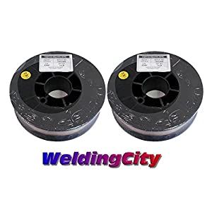 WeldingCity 2 Rolls of ER70S-6 ER70S6 Mild Steel MIG Welding Wire 11-Lb Spool 0.045″ (1.2mm)