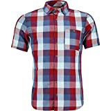 Ortovox Cortina Short-Sleeve Shirt - Men's Dark Blood, M
