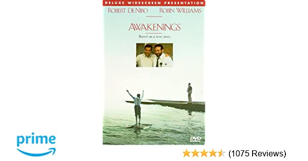 Amazon Com Awakenings Robert De Niro Robin Williams Ruth Nelson