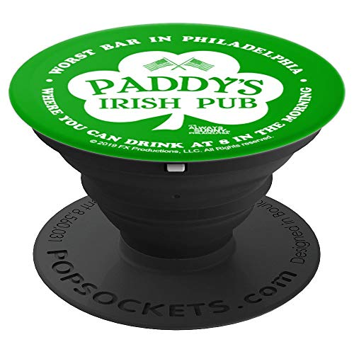 It's Always Sunny in Philadelphia Paddy's Pub Shamrock - PopSockets Grip and Stand for Phones and ()