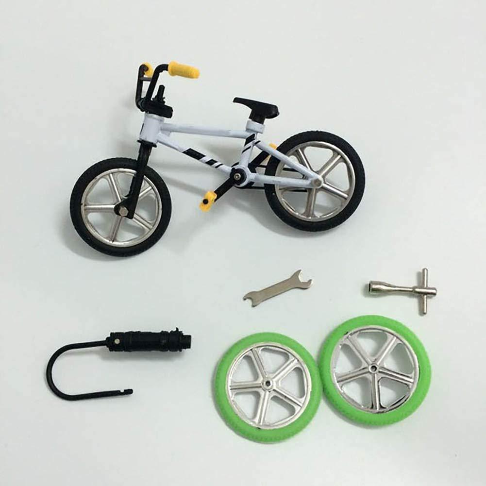 Le yi Wang You Cute Metal Mini BMX Finger Mountain Bike Toys Kids Simulation Bicycle Model Random Color