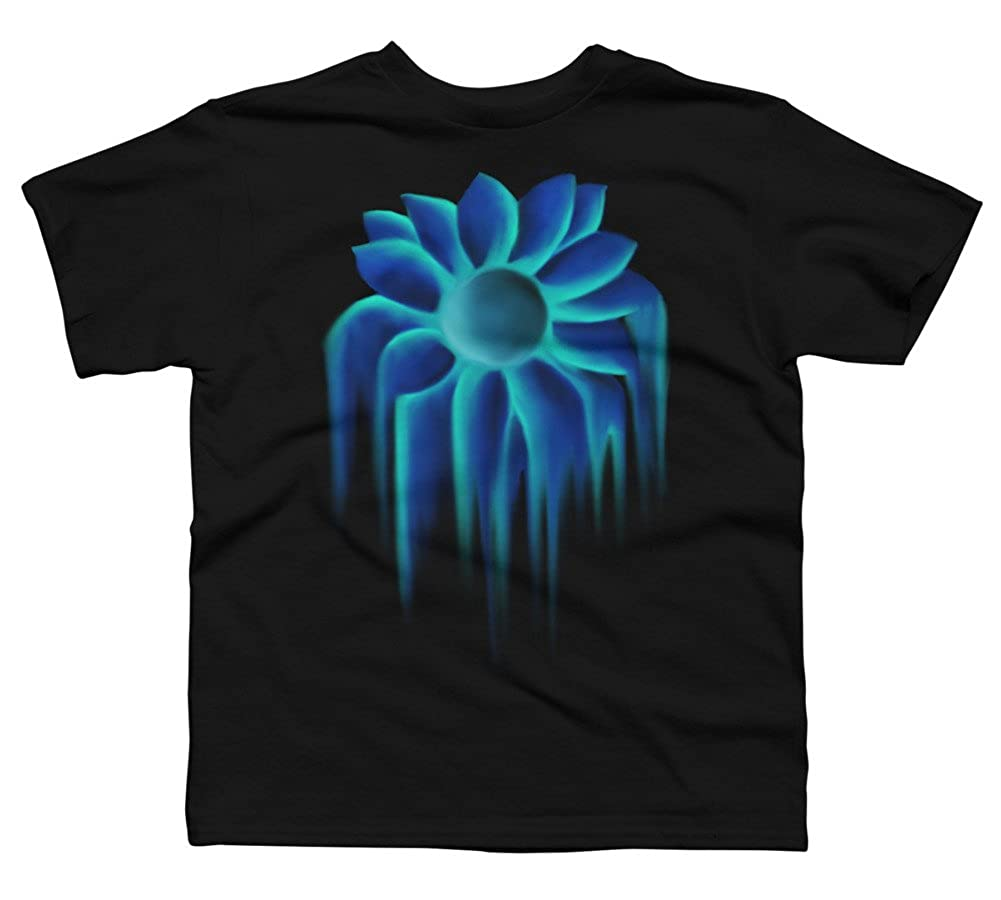 Blue Sunflower Boys Youth Graphic T Shirt Design By Humans