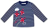 JoJo Maman Bebe Air Show Top (Baby) - Navy/White Stripe-18-24 Months