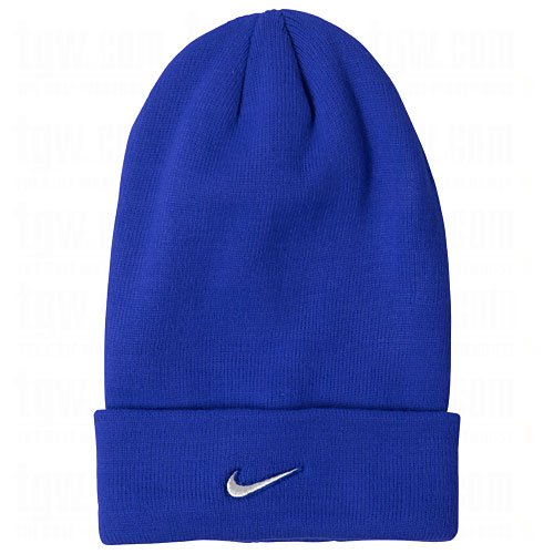 Nike Stock Cuffed Knit Beanie Adult Unisex (Royal)