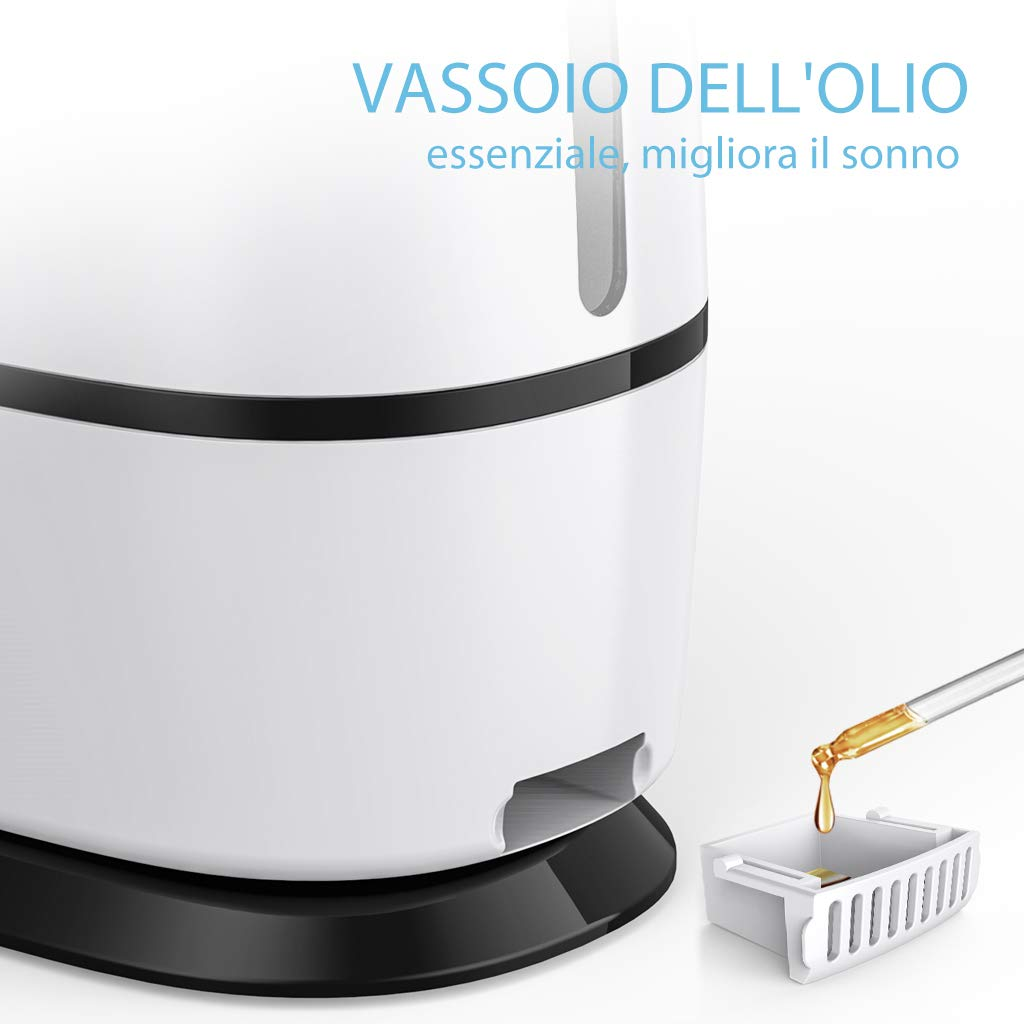 pour Salon Ovonni 6L Humidificateur dair Ultrasonique Grande R/éservoir deau 6L Mode Super Silencieux diffuseur d/'ar/ôme Spa ou Bureau
