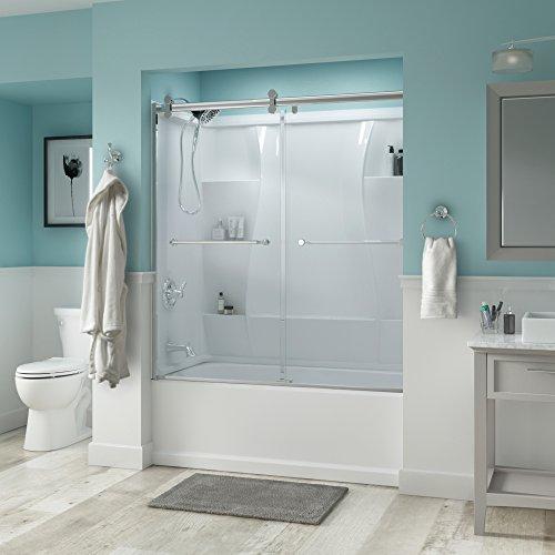 glass bath tub shower door - 5