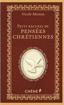 Le petit recueil de pensées chrétiennes