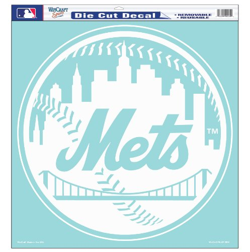 MLB New York Mets 18-by-18 inch Diecut Decal