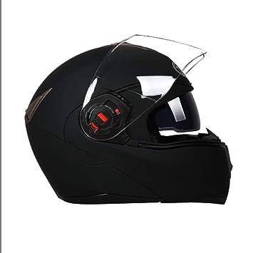 ZCRFY Cascos Integrales Cascos Abiertos Moto Motocross Modulares Motocicleta Campo A Través Half-Helmet Modular