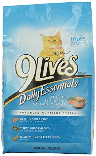 9 Lives Cat Food Daily Essentials, 3.15 lb