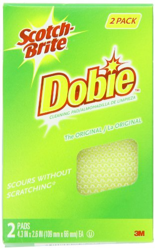 Scotch-Brite Dobie All Purpose Pads, 2-Count (Pack of 5)