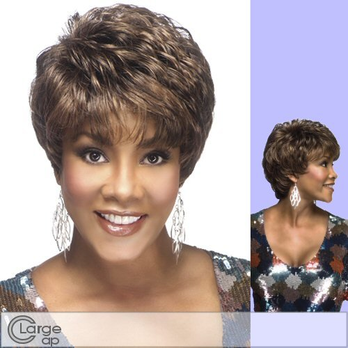 AMY-V (Vivica A. Fox) - Synthetic Full Wig in 34 (Caucasian Wigs)
