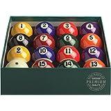 "Aramith 2-1/4"" Regulation Size Premium Billiard/Pool Balls, Complete 16 Ball Set"