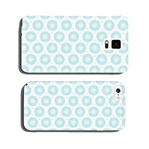Retro Seamless Pattern Flowers Turquoise cell phone cover case iPhone6 Plus